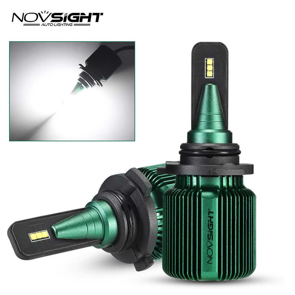 NOVSIGHT 2019 New 2PCS H7 LED 10000LM/PAIR Mini Car Headlight Bulbs H4 LED H11 H13 9005 9006 Headlamps HB3 HB4 Auto LED Lamps