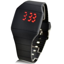 Watch women New Hot fashion luxury brand design LED Watch Men Student Cheap silicone Electronic Digital sport wristwatch relogio