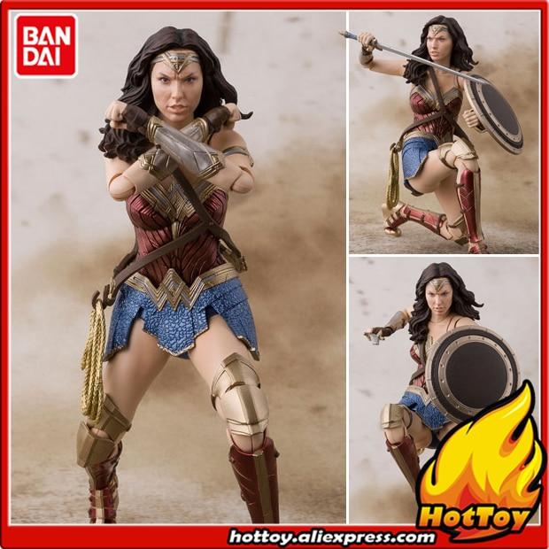 100% Original BANDAI Tamashii Nations S. H. Figuarts (SHF) Figure d'action-Wonder Woman (ligue de JUSTICE) de