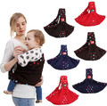 6 Colors 100% Cotton Good Quality Cute Dot Feet Printing Infant hipseat Baby Carriers Side Carry Suspenders Wrap bebek kanguru