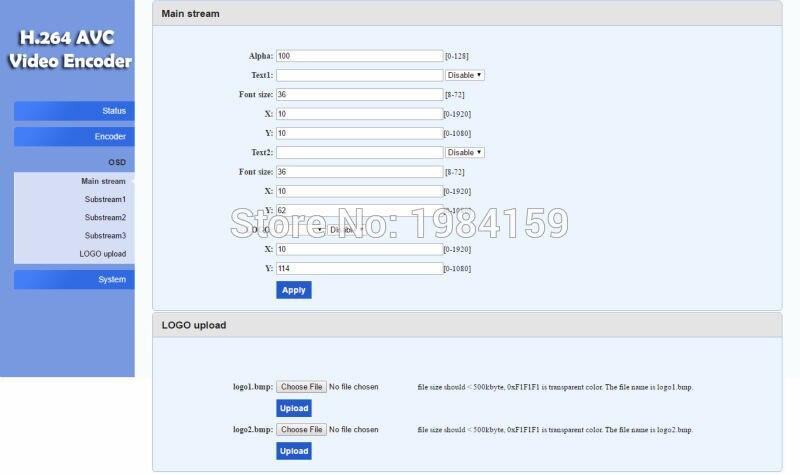 U8Vision H 264 HDMI Video Encoder support RTSP/RTMP/UDP/RTP/HTTP for live  streaming Broadcast
