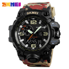 SKMEI Top Brand Military 50M Waterproof Army Alarm Quartz Digital Watch Sports LED Electronic Wristwatch Relogio Masculino