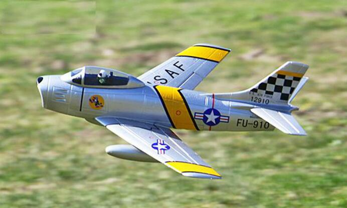 RC EDF jet airplane MINI F86 50mm