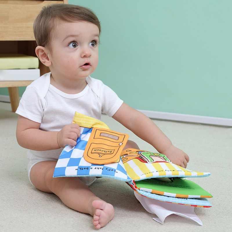 Детская Ткань книга обучения обучение животных ткань мягкая ткань ткани книги о животных ребенка раннего обучения ткань книги