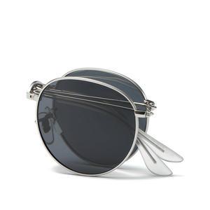 4e25c1e907f reggaeon Round Polarized Sunglasses Retro Men glasses woman