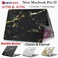 Мраморный Серии Ноутбука Чехол для Apple Macbook Pro 13 Релиз 2016 A1706 и A1708 Ноутбук СЛУЧАЕ Ноутбук Защитная крышка shell мешок