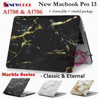 Marble Series Laptop Case For Apple Macbook Pro 13 Release 2016 A1706 A1708 Laptop CASE Notebook