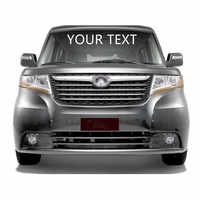 Your Text Custom Personalized Wholesale Car Front Rear Windshield Sticker Body Decal Styling decoration Free standard shipping