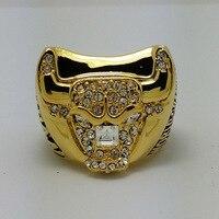 Chicago Bulls 1997 National Basketball Championship Ring 10Size Best Fans Gift Jordan