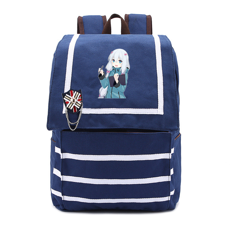 Anime Eromanga Sensei Backpack Sagiri Izumi Bags Cute fashion Student School Bag Travel Backpack for Girls Canvas Bags цена 2017