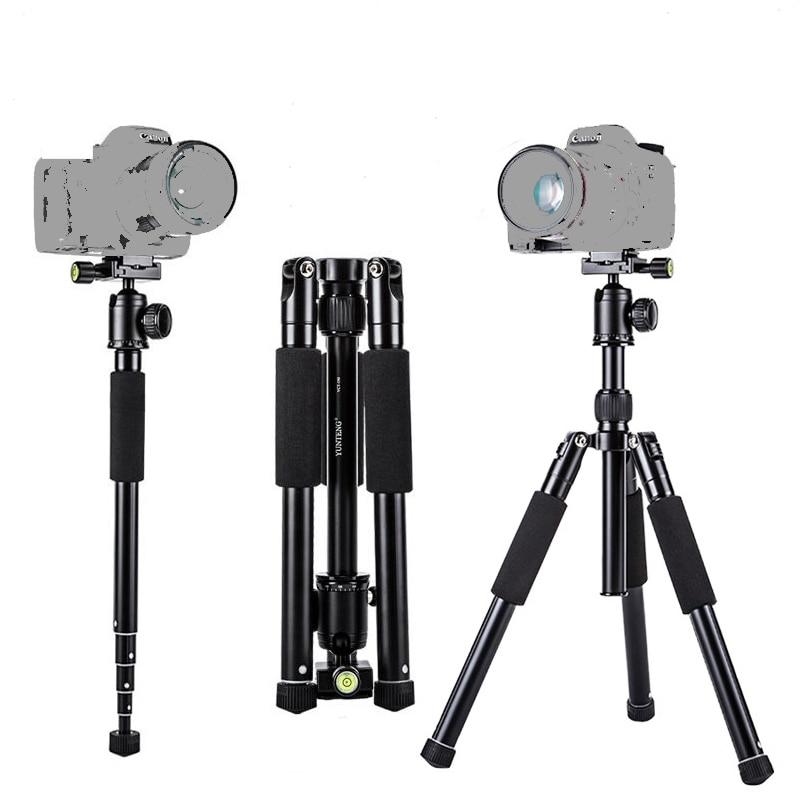 High quality Aluminum Alloy Professional Tripod with monopod+360 rotation horizontal Ball head for Cameras DSLR Canon Sony Nikon цена и фото