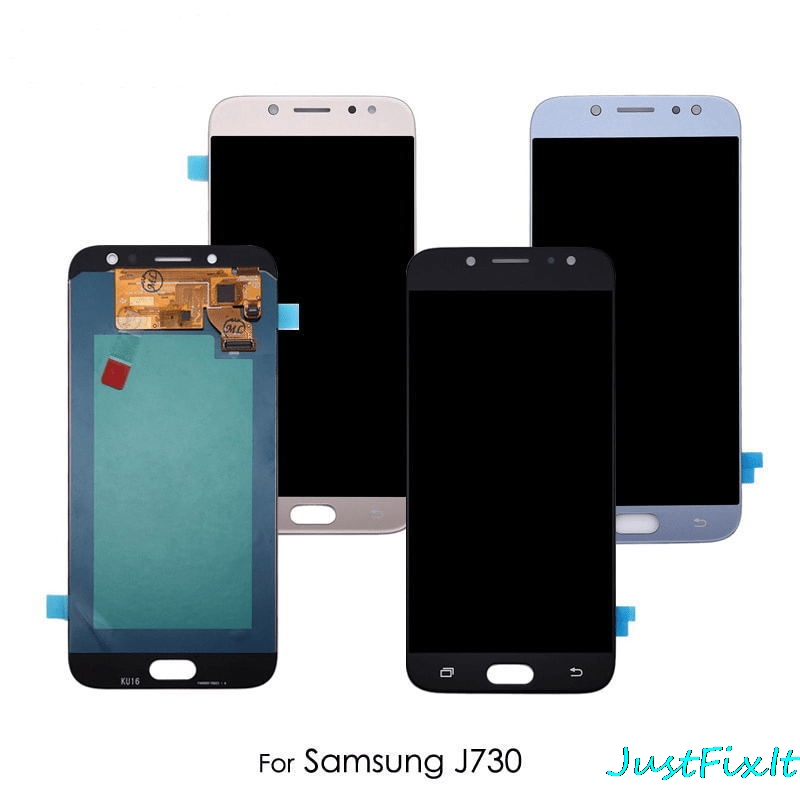 Original AMOLED Display For SAMSUNG Galaxy J7 Pro 2017 J730 J730F LCD Display Touch Screen Replacement