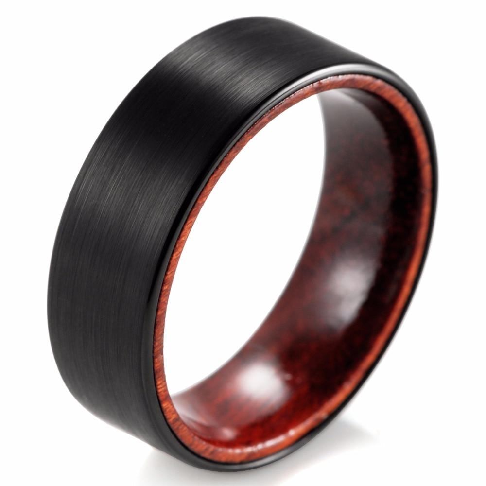 wooden wedding rings of distinct and generosity wood mens wedding bands Image of wooden wedding rings uk