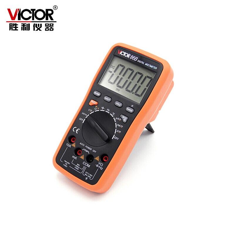 Victor VC86B digital multimeter VICTOR86B high precision automatic range for watchband USB interface victor vc70f digital multimeter