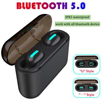 Bass Music 5.0 Bluetooth Earphones with Mic Wireless Earphone Bluetooth Headphone Headset Headphones for iPhone/Android MP3 PC