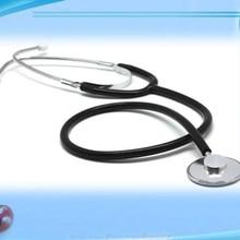 Стетоскоп помощь одноглавый стетоскоп портативный медицинский Auscultation устройство Оборудование Инструмент продвижение