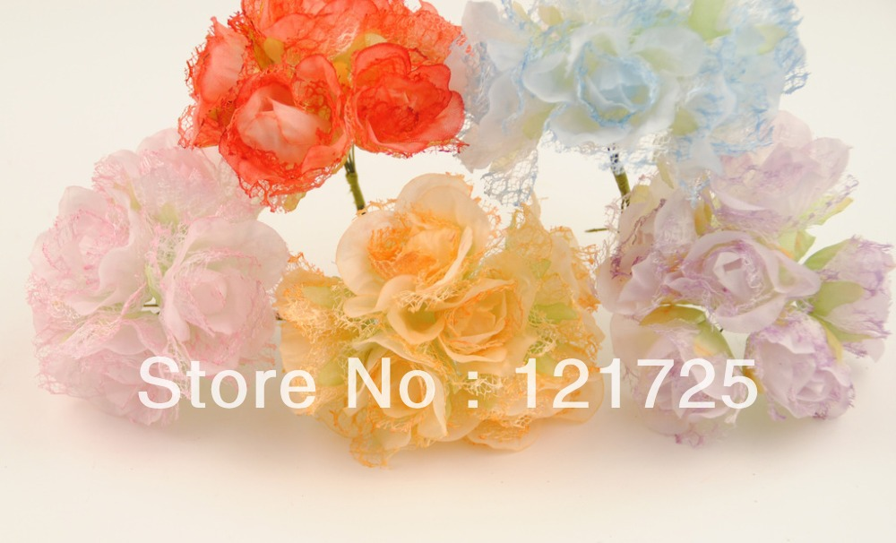 Us 7 63 13 Off Free Shipping Paper Flowers Mini Artificial Flower Hand Made Small Wedding Bouquet Scrapbooking Decor In Artificial Dried Flowers