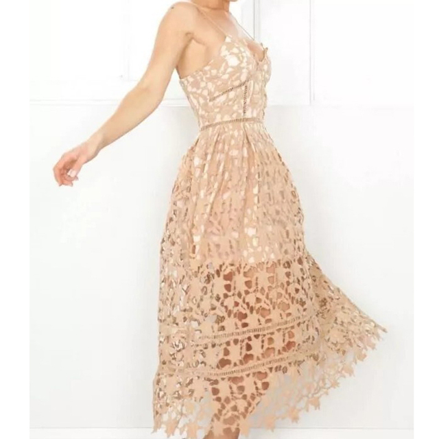 c9d531fb65e Boho People Fashion Style Thin embroidery Sheer lace dresses double layered  Off Shoulder Backless low Dress