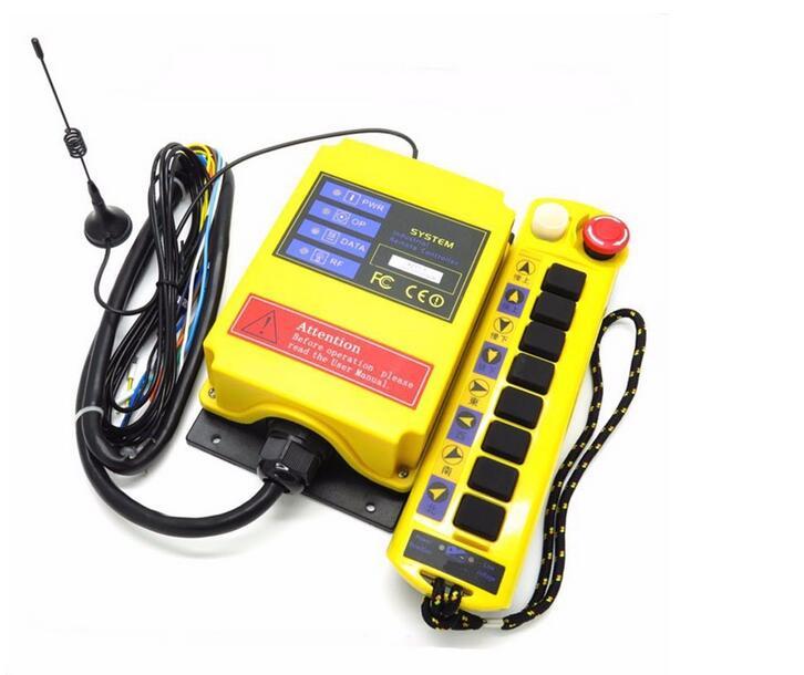 Radio Télécommande A211-Y industrielle à distance de contrôle de levage de grue bouton-poussoir récepteur
