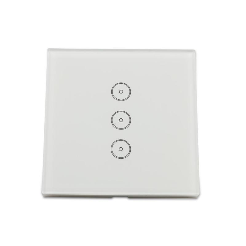 Smart WiFi Switch Wireless Light Touch Switch Smart Control WiFi APP Home Switch for Amazon Alexa Timing Function Smart Switch b22 wireless wifi app remote led smart bulb light lamp lighting for echo alexa for google home