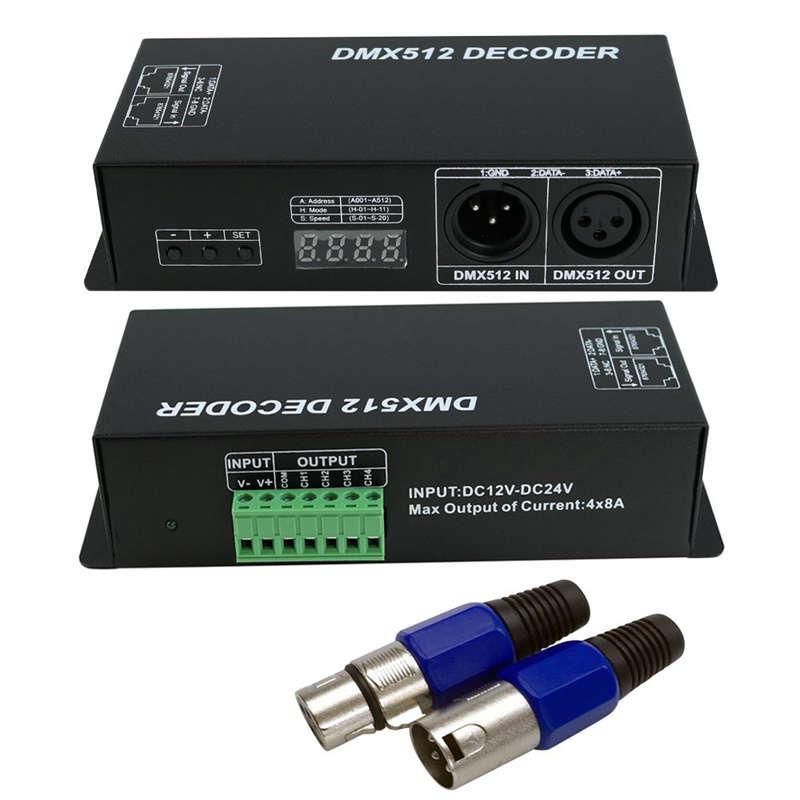 Dmx512 controlador atenuación de 2