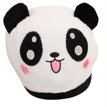 35-39 Women's shoes Cute Panda Winter Warm Slippers For Women Plush Antiskid Indoor Slippers Home High Quality Pantufa Casual