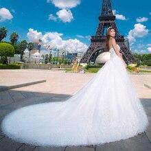 Las Mujeres Vestido Largo De novia de Mariage Vestido De Noiva Vestidos de Novia barato Ropa de China Barato ropa de china Robe De Vestidos de Fiesta 1