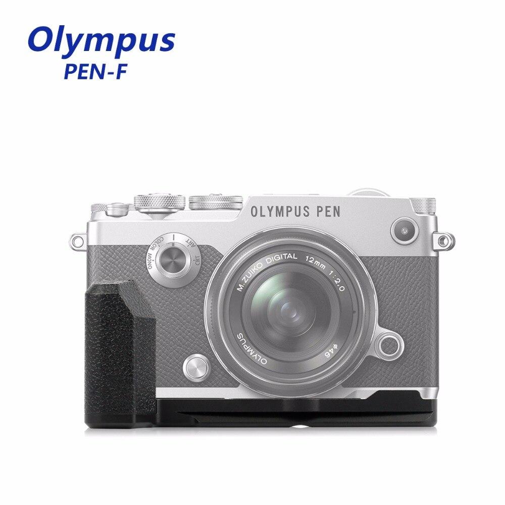 Meike MK-ECG4 Nouvelle Tige Verticale Caméra L type Support en métal Main support de prise en main pour Olympus Pen-f