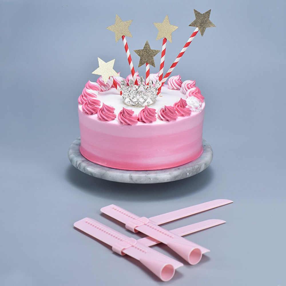 調整可能なケーキスクレーパーエッジレーススムーサーポリッシャーツール装飾フォンダンシュガークラフト DIY ベーキングペストリーツールケーキ用品