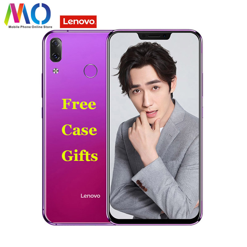 "Original Lenovo Z5 L78011 Smartphone Android Fingerprint 6GB 64GB Octa-core AI Camera Snapdragon 636 4G FDD LTE 6.2"" FHD 16.0MP"