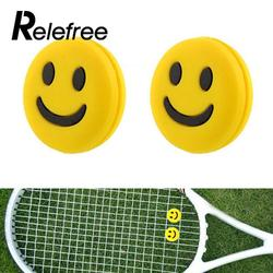 Relefree 3pcs mini silicone rubber smile smiling face shock vibration dampener absorber for sports tennis racquet.jpg 250x250