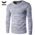 Sweater Men 2017 Brand  Pullover Sweater Male O-Neck England Slim Fit Knitting Mens Sweaters Man Pullover Men XXL DX