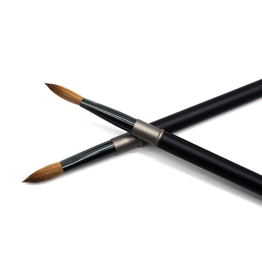 eval pro escova de unhas acrilicas pretas 04