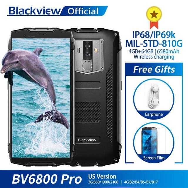Blackview BV6800 Pro Android Waterproof Rugged Smartphone