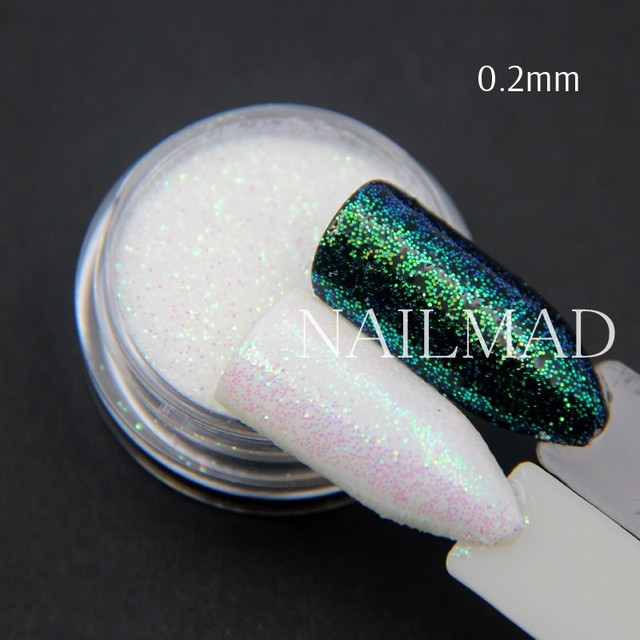 1 box Pixel Effect Nail Glitters Mermaid Green Glitter Sequins Iridescent Nail Sparkle Manicure Makeup Nail Art Decoration