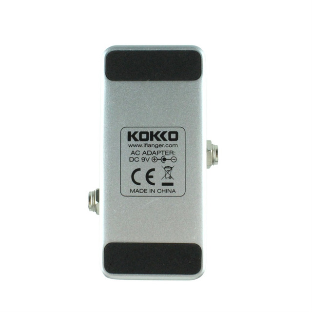 Anti-skid Aluminum alloy KOKKO FCP2 Mini Compressor Pedal Portable Guitar Effect Pedal 9V DC 300mA Musical Instruments Effects