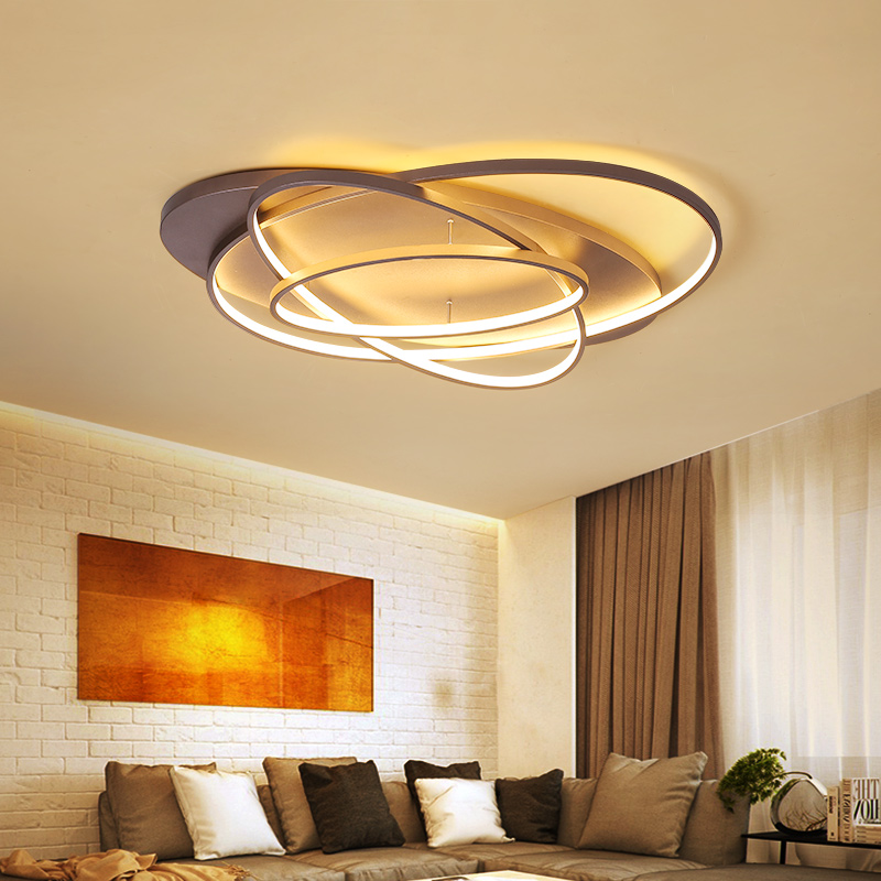 Modern creative LED ceiling chandeliers for the living room bedroom dining room aluminum AC80-260V chandeliers lighting fixtures creative cartoon baby cute led act the role ofing boy room bedroom chandeliers children room roof plane light absorption