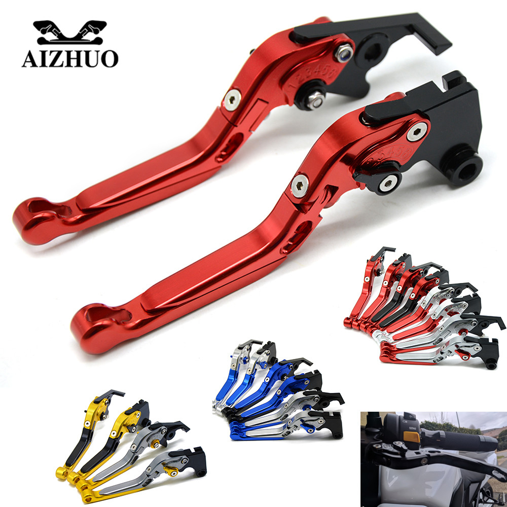 Brake Clutch Levers Motorcycle Folding Extendable Brake Clutch Levers For HONDA CBR125R 2005