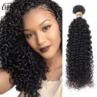 HANNE Hair Deep Wave Bundles Natural Black Color Malaysian Hair Bundles Remy Hair Extension 100% Human Hair Bundles For Sale