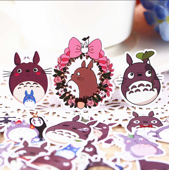 36 pcs Kreatif kawaii self-made neighbor Totoro/puri indah stiker/stiker dekoratif/DIY craft photo album