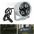 DIYSECUR 4LED Infrared Night vision IR Light illuminator lamp 50M for IP CCTV CCD Camera
