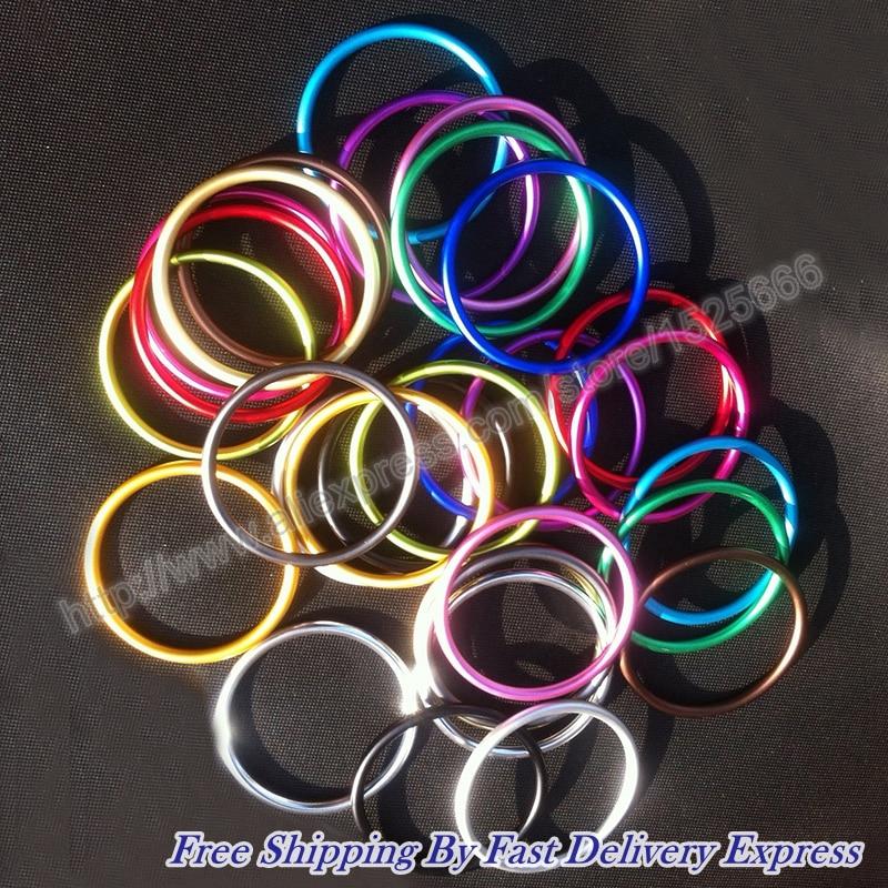 Free Shipping Wholesale 200pcs 100pairs 3 Aluminium Rings Baby Sling