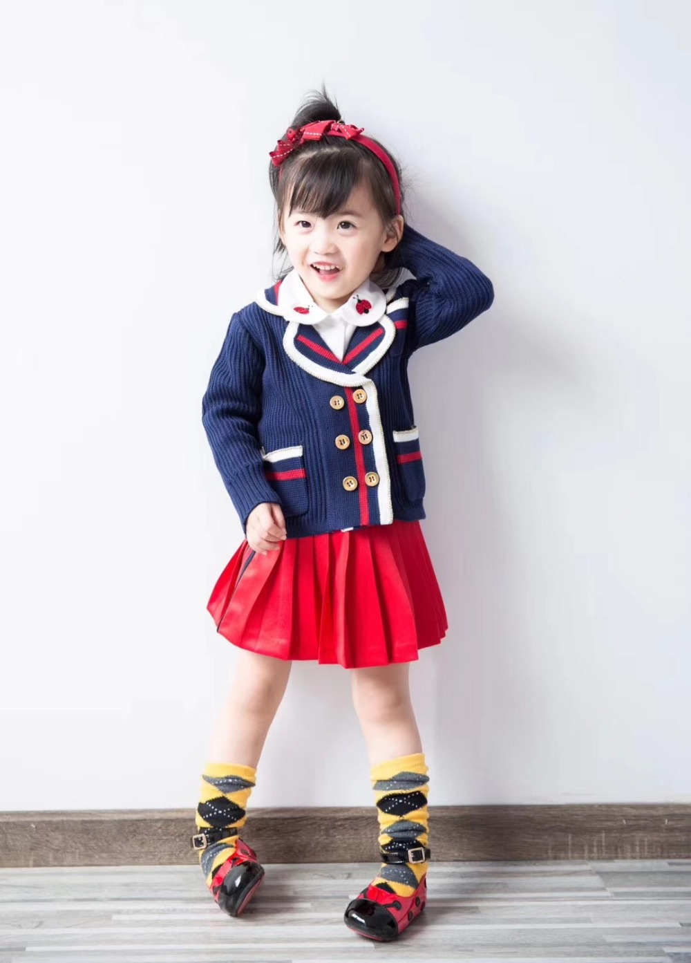 kids spring coat for 5T long sleeve College style baby ...