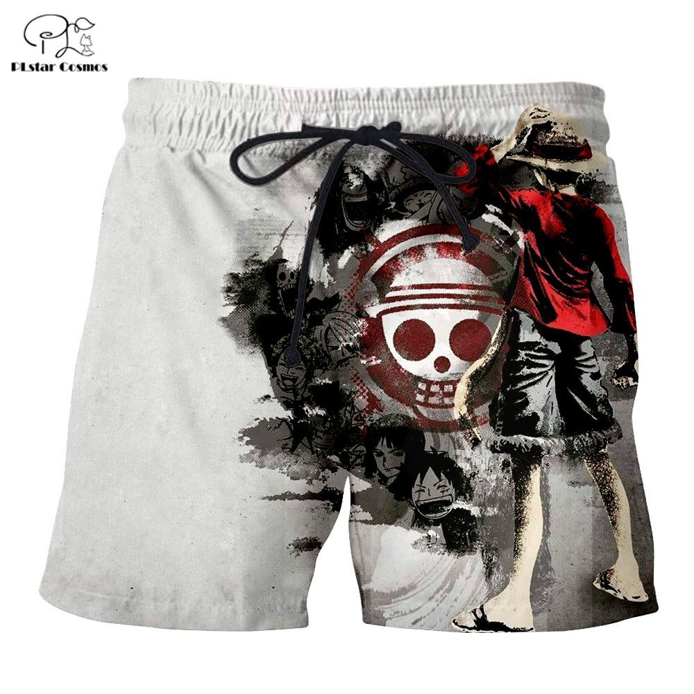 PLstar Cosmos Summer hip hop T Shirts Men Anime Printed Monkey D Luffy 3D T Shirt and shorts Mens for boy ONE PIECE Suit in T Shirts from Men 39 s Clothing