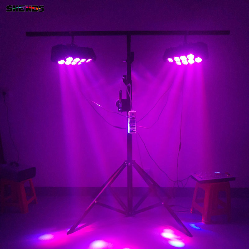 Image 5 - 1PCS Led Spider Beam Light 8x10W RGBW 4in1 Bar Moving Head DMX512 White Led Club DJ Disco Stage Nightclub Party Event SHEHDS-in Stage Lighting Effect from Lights & Lighting