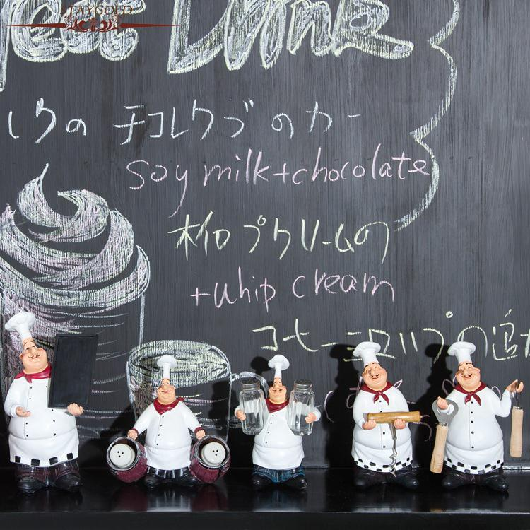 Zakka Küchenaccessoires Küchenchef Home Restaurant Bar Cafe - Wohnkultur - Foto 2