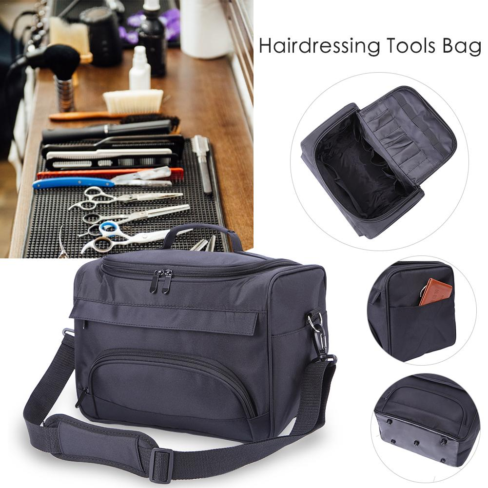 Professional Large Barber Tools Bag Salon Hairdressing Hair Styling Tools Clipper Comb Scissors Case Storage Bag