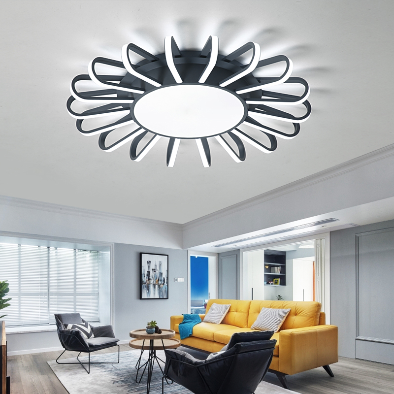 New Modern Led ceiling lights for living room bedroom ceiling lamps Home Decor ceiling lighting fixtures luminarias para sala цена