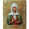 ICONOS religiosos cruz pintura diamante puntada retrato mosaico bordado lleno de diamantes rhinestone cuadrado bordado gente C669