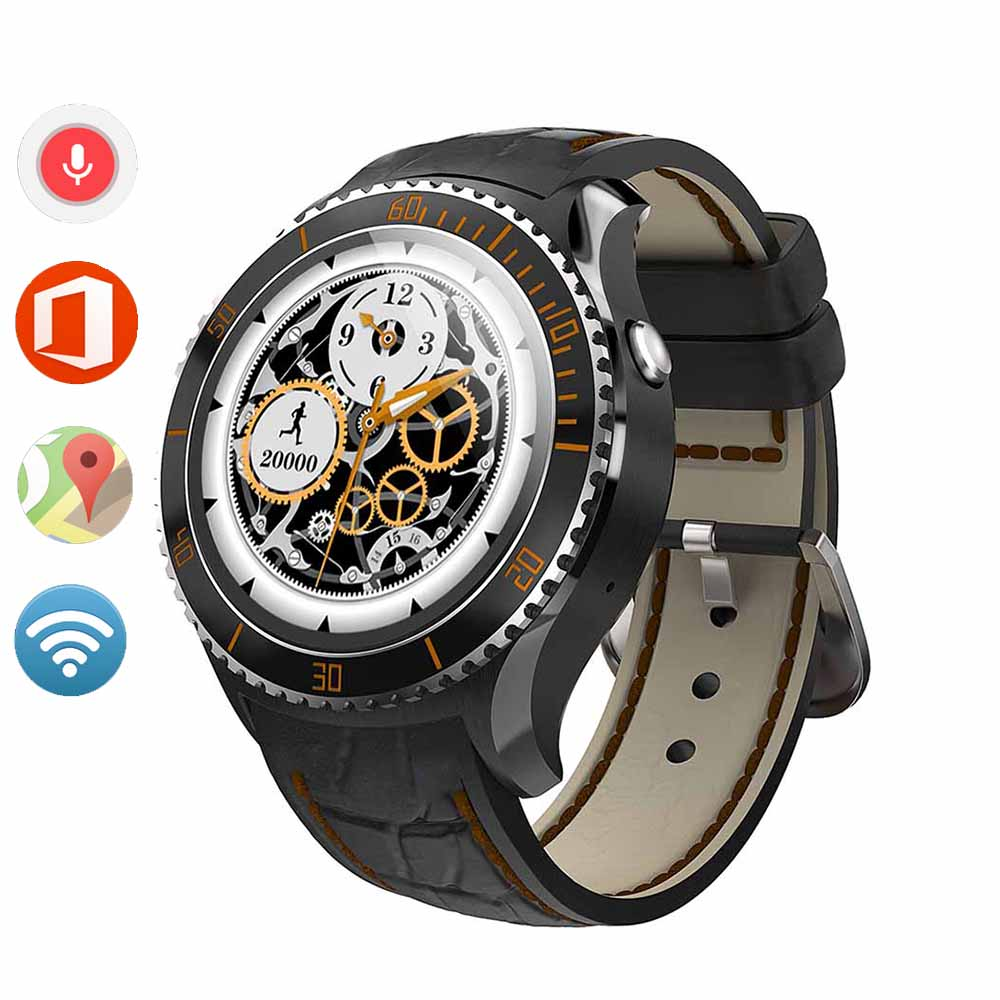 In stock 2016 New MTK6580 512MB 4GB 3G Android 5 1 OS Bluetooth Smart Watch Reloj